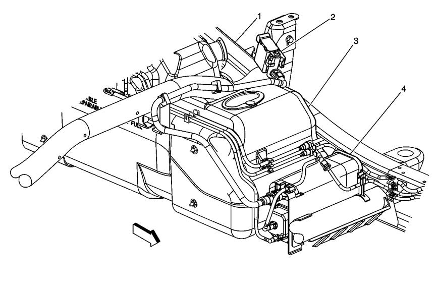 gas line diagram 2002 chevy truck