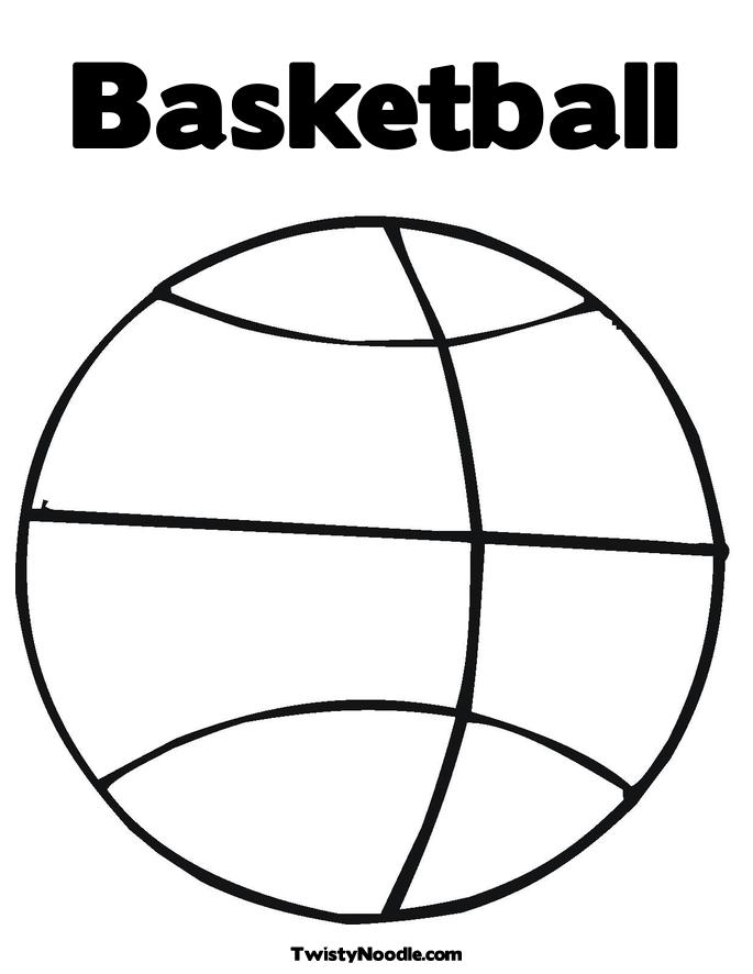 Simple Basketball Drawing at GetDrawings Free for personal use