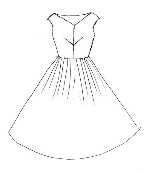 Medium Of Design A Dress