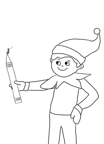 Simple Elf Drawing at GetDrawings Free for personal use Simple
