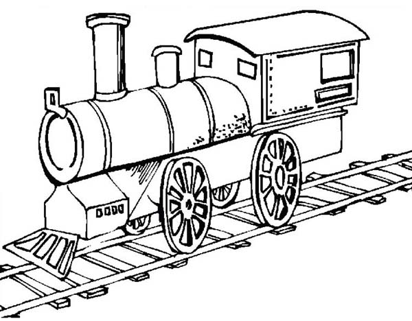 Simple Train Drawing at GetDrawings Free for personal use