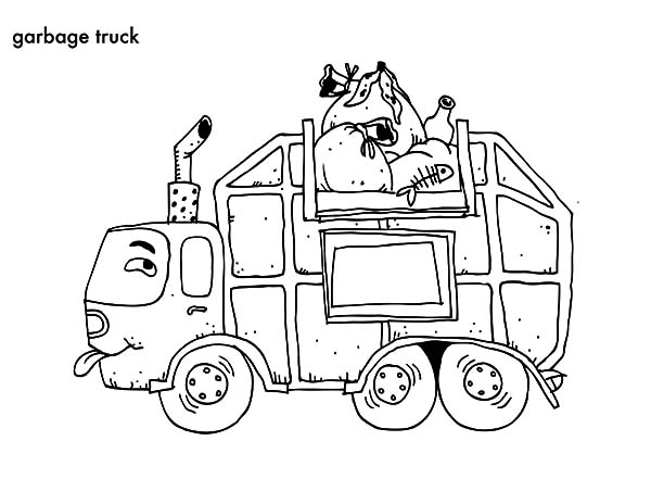 Simple Truck Drawing at GetDrawings Free for personal use