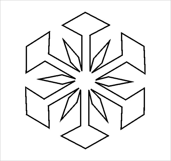 Snowflake Drawing Simple at GetDrawings Free for personal use