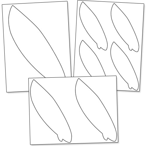 Surfboard Drawing Template at GetDrawings Free for personal