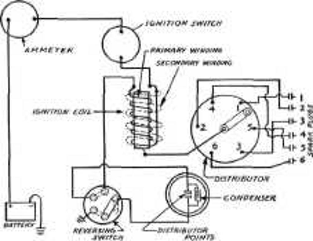 universal ignition coil wiring wiring diagram