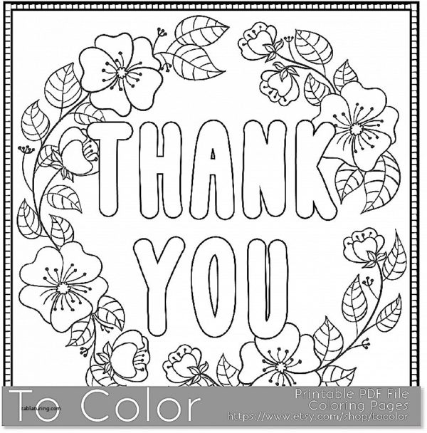 Thank You Card Drawing at GetDrawings Free for personal use - printable thank you cards black and white
