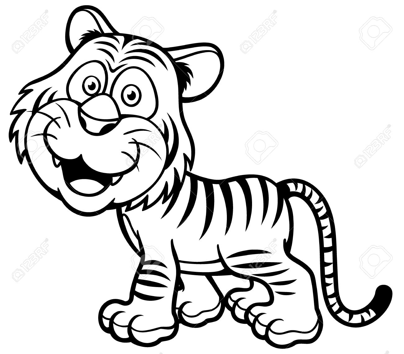 tigers drawing at getdrawings com auto electrical wiring diagram