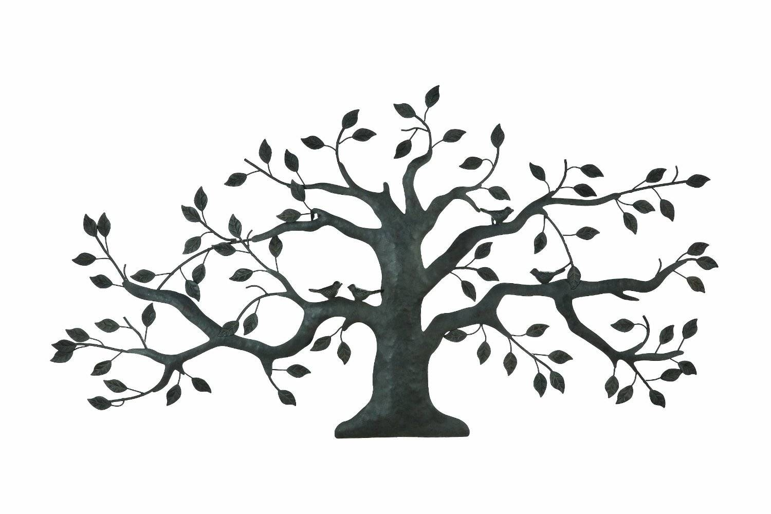 Tree On A Wall Drawing At Getdrawingscom Free For