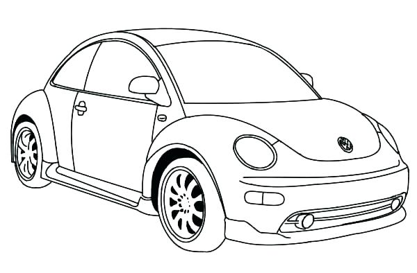 vw beetle art auto electrical wiring diagram  vw beetle drawing at getdrawings