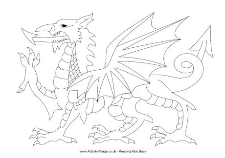 Welsh Dragon Drawing at GetDrawings Free for personal use