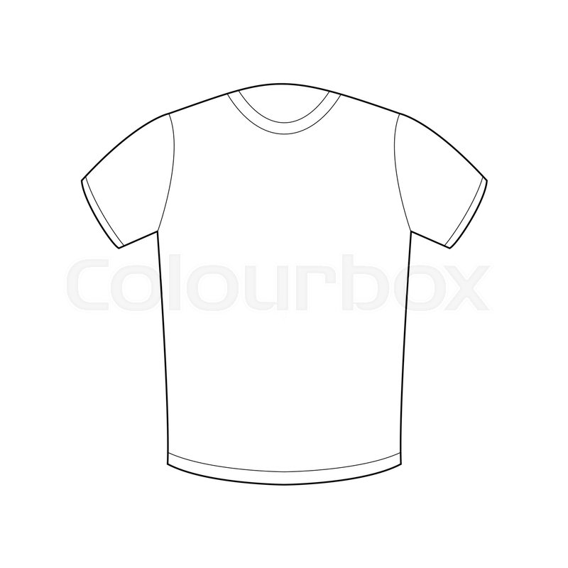 White T Shirt Drawing at GetDrawings Free for personal use
