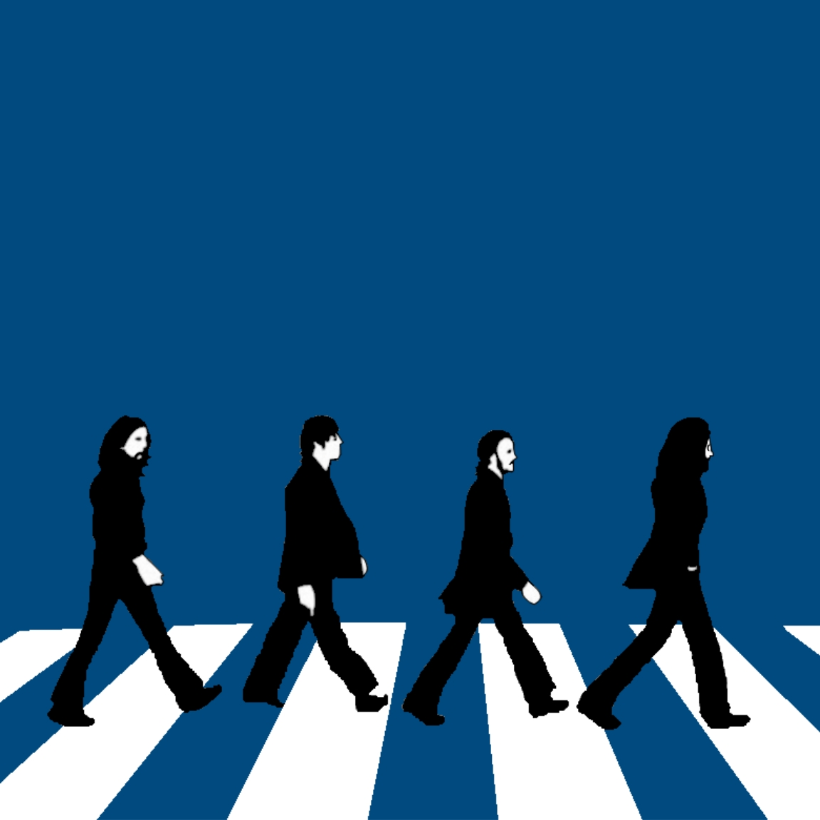 Abbey Road Wallpaper Hd Beatles Abbey Road Silhouette At Getdrawings Com Free