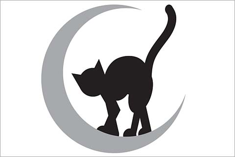 Cat Silhouette Pumpkin at GetDrawings Free for personal use - cat pumpkin template