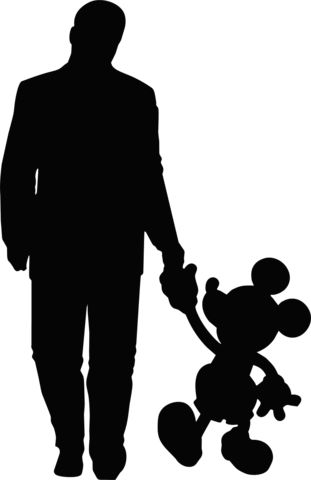 Disney Mickey Mouse Silhouette at GetDrawings Free for