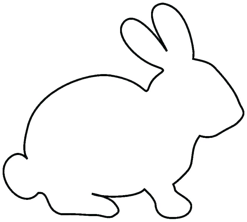 Easter Bunny Silhouette Printable at GetDrawings Free for
