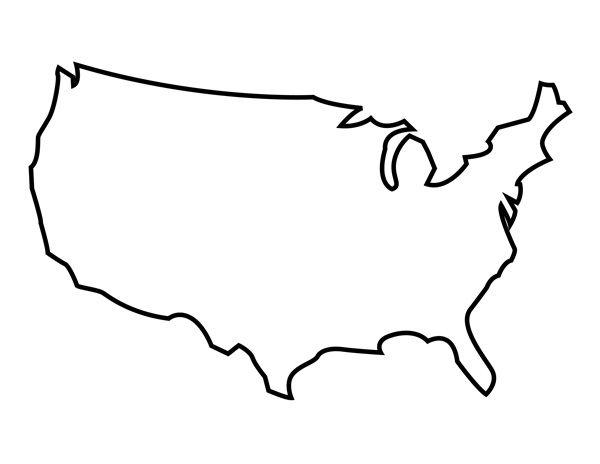 Mexico Map Silhouette at GetDrawings Free for personal use