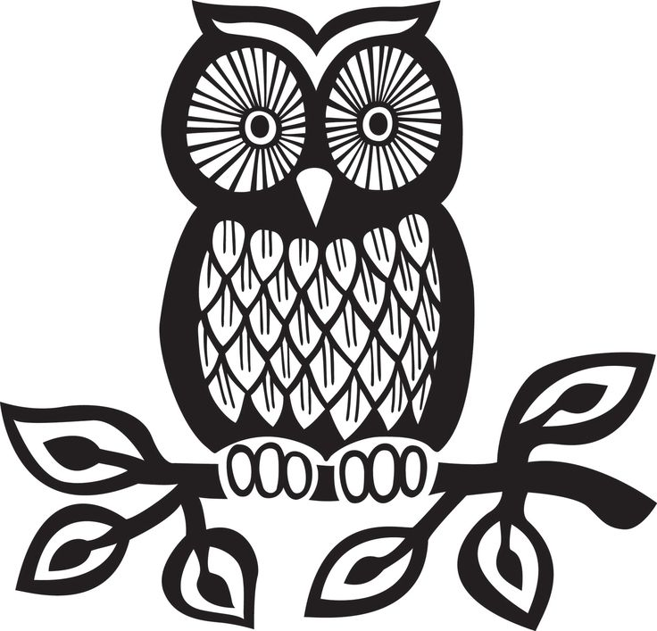 Owl Silhouette Tattoo at GetDrawings Free for personal use Owl