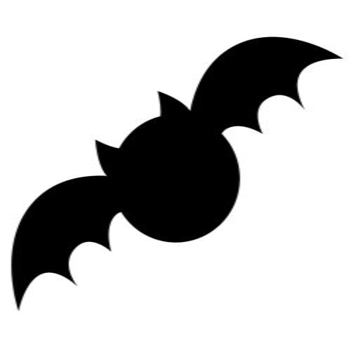 Printable Bat Silhouette at GetDrawings Free for personal use