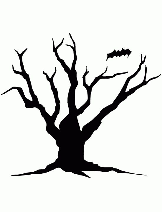 Printable Tree Silhouette at GetDrawings Free for personal use