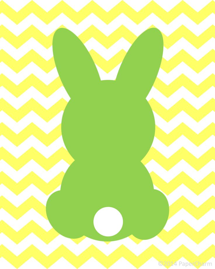 Rabbit Silhouette Printable at GetDrawings Free for personal