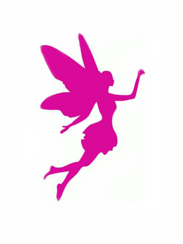 Silhouette Fairies at GetDrawings Free for personal use