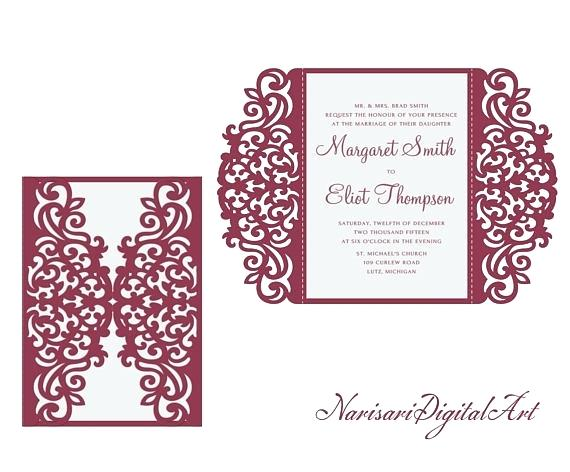 Silhouette Wedding Program Templates at GetDrawings Free for