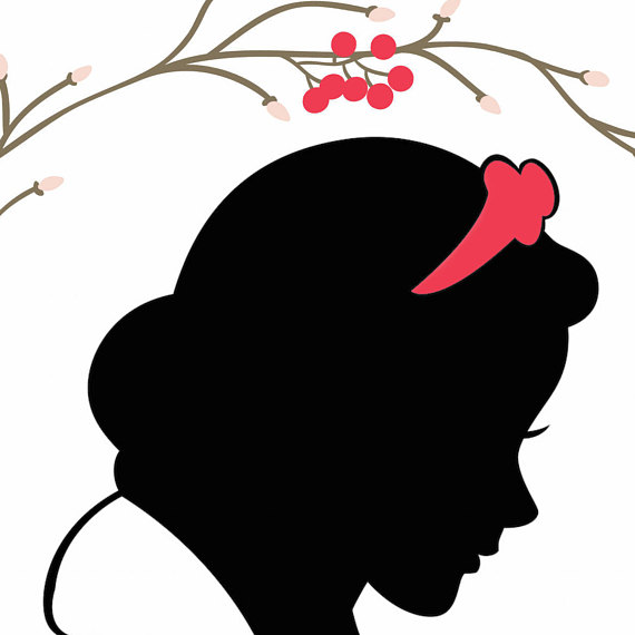 Snow White Silhouette Printable at GetDrawings Free for
