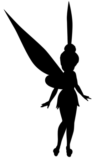 Tinkerbell Silhouette at GetDrawings Free for personal use