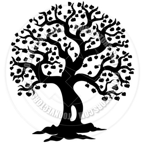 Willow Tree Silhouette Clip Art at GetDrawings Free for