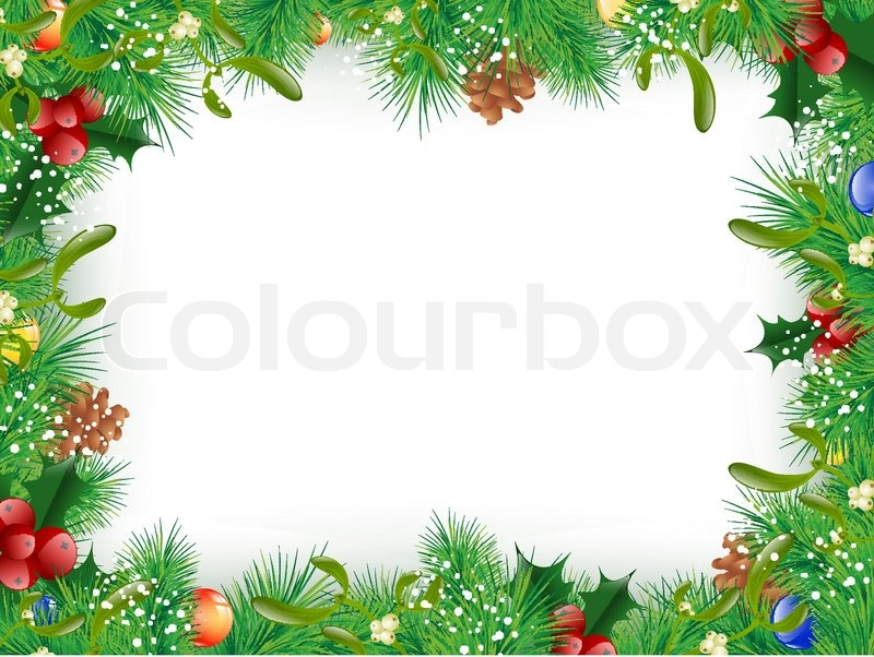Christmas Border Vector Free at GetDrawings Free for personal