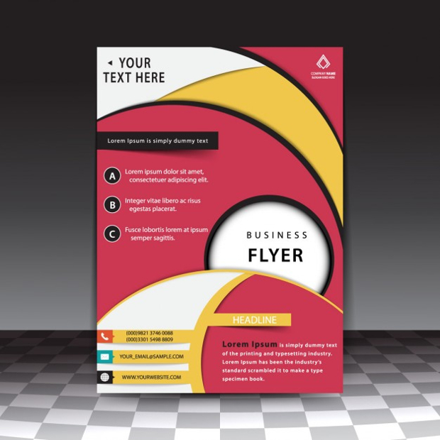 Free Vector Flyer Templates at GetDrawings Free for personal