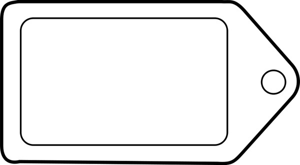 Gift Tag Vector at GetDrawings Free for personal use Gift Tag