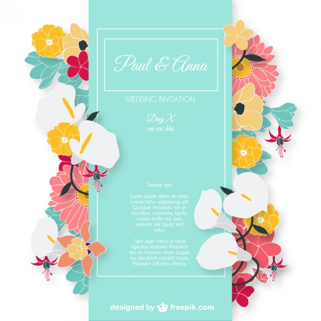Invitation Design Vector at GetDrawings Free for personal use