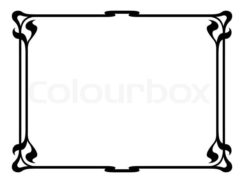 Free Decorative Page Borders Clip Art Flisol Home