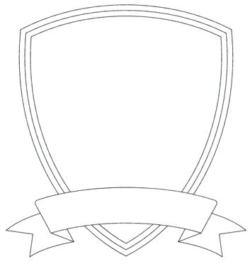 Shield Template Vector at GetDrawings Free for personal use