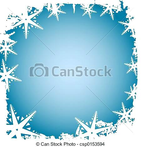 Snowflake Border Vector at GetDrawings Free for personal use
