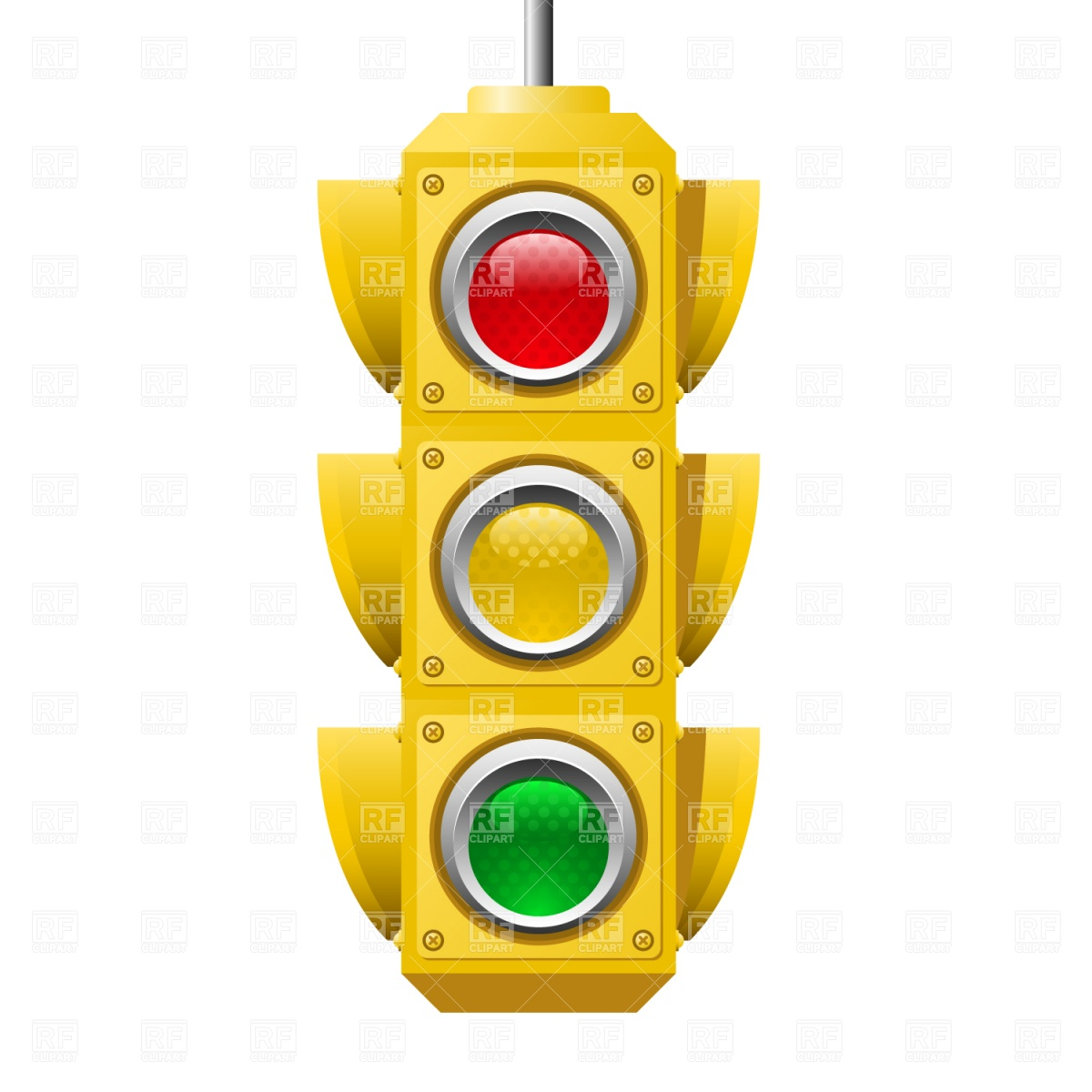 Warning Light Clipart Stop Light Vector At Getdrawings Free For Personal Use Stop
