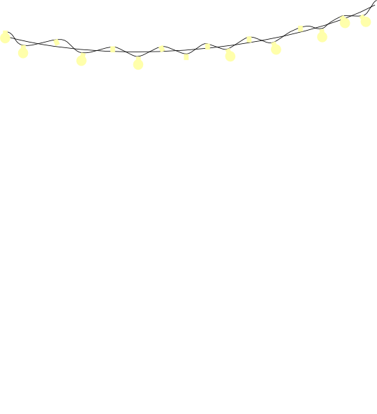 String Lights Vector Free At Getdrawings Free Download