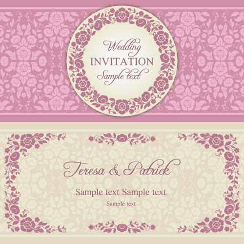 Wedding Invitation Vector Free Download at GetDrawings Free