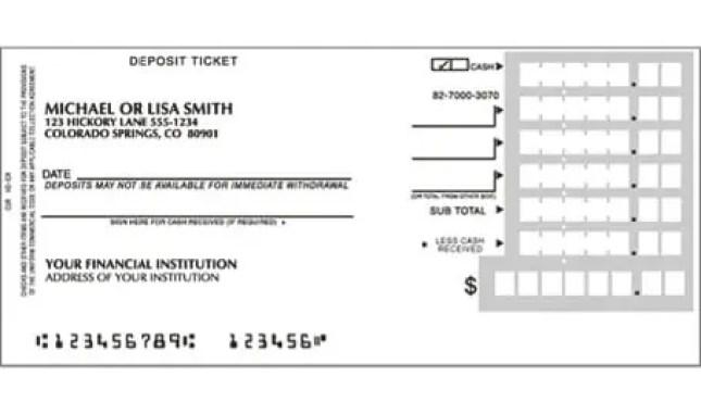 deposit slip template 333