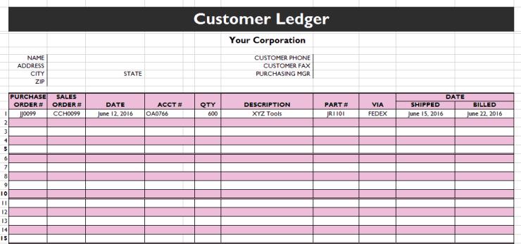 general ledger template 888