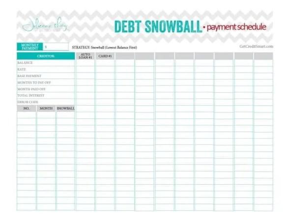 debt snow ball 648574