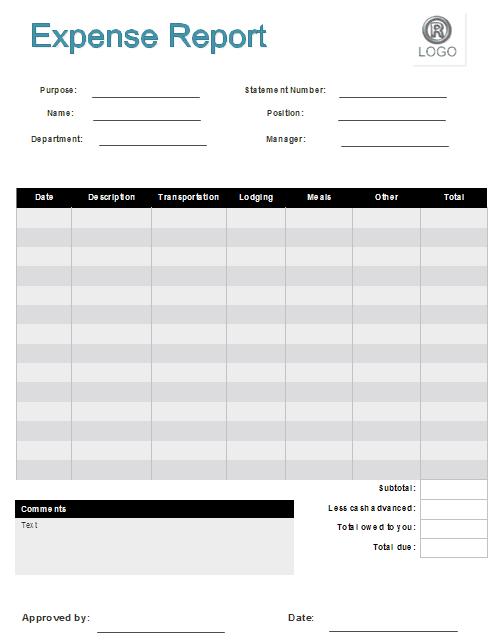 expense claim form template 26654
