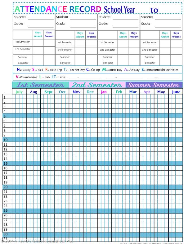 monthly attendance sheet template 222