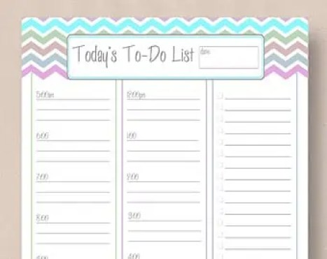 to do list 6214