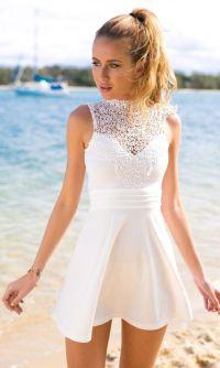 22 Cute White Graduation Dresses Under $100 ...