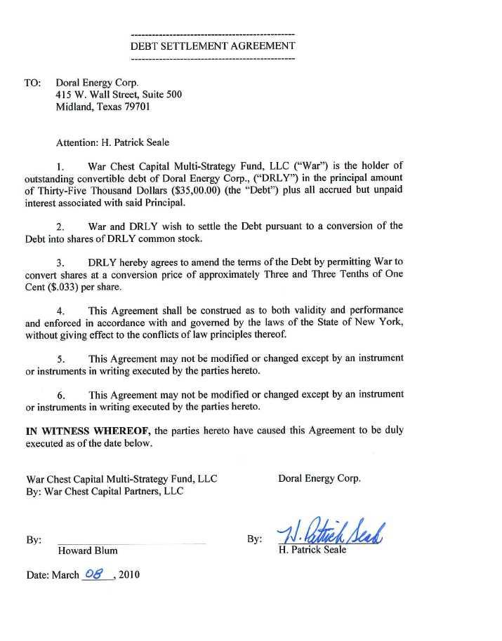 Sample Settlement Agreement Gas Accord Settlement Agreement Gas - settlement agreement template