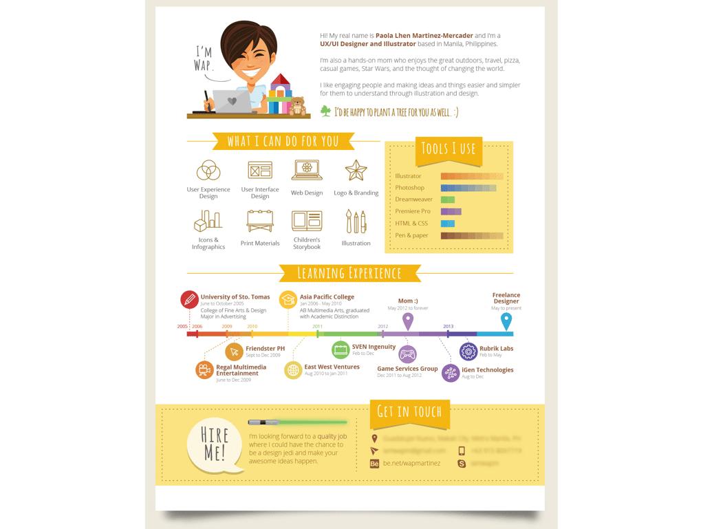 infographic resume builder free - Infographic Resume Builder