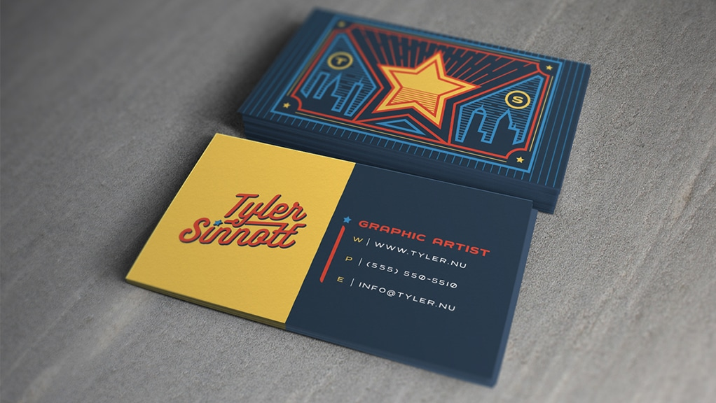 Flywheel 8 ideas for your next business card