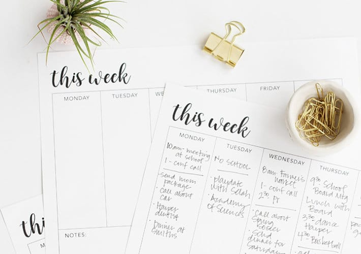 Flywheel Increase your productivity with these free printable to